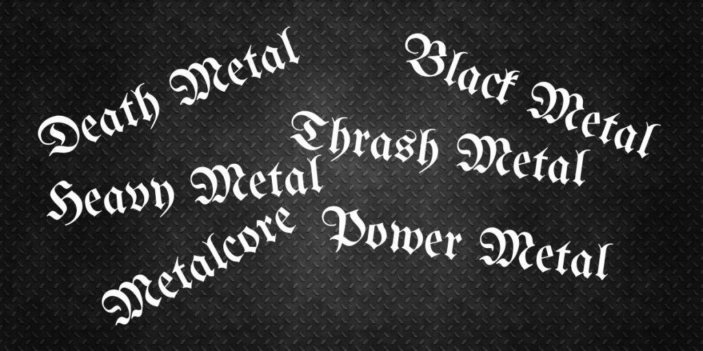 subgenres of metal