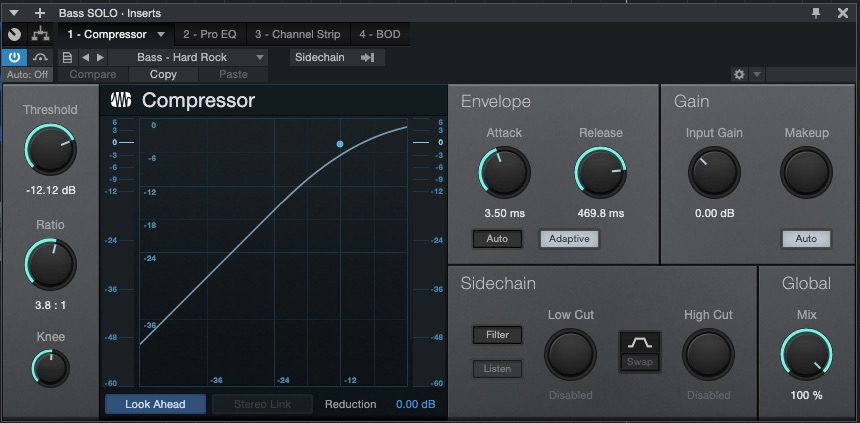 DAW Plugins for Bass - Compressor