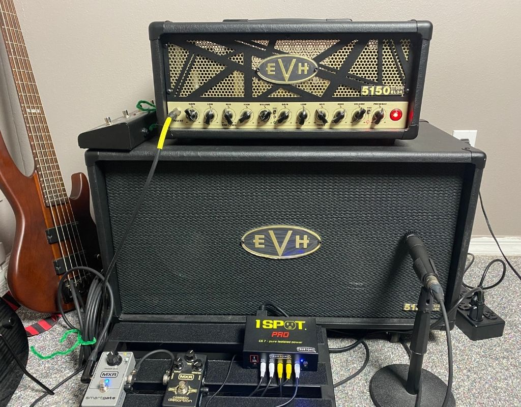 EVH 5153 tube amp EL34 50 watt head with 2x12 cabinet